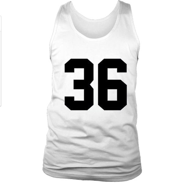 36 Number Tanktop