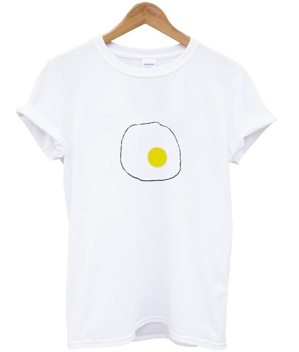 Egg Print T-Shirt