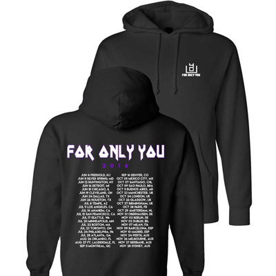 4OU For Only You 2016 Tour Hoodie