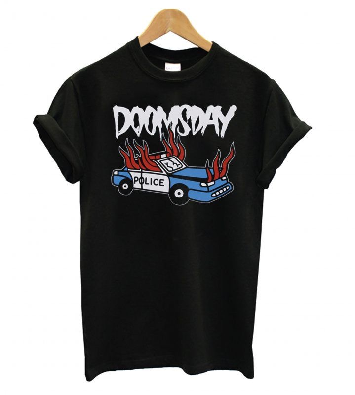 Doomsday Police Car T-shirt