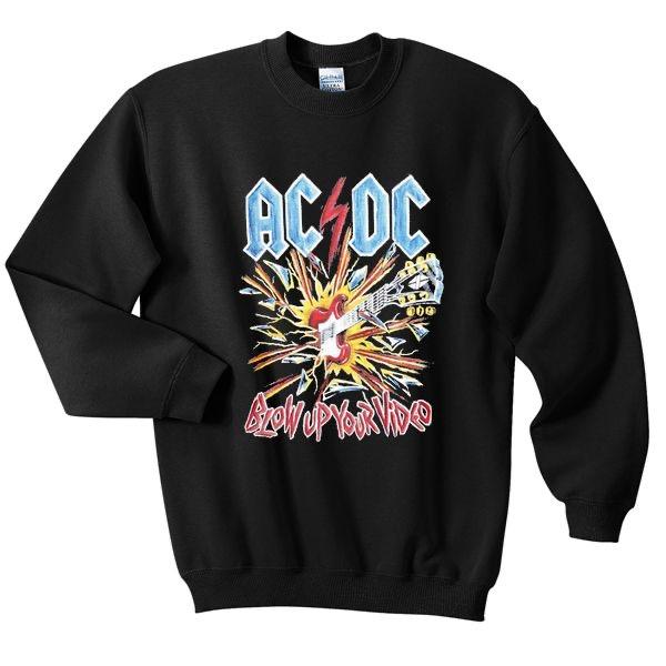 ACDC Blow Up Ur Video Sweatshirt