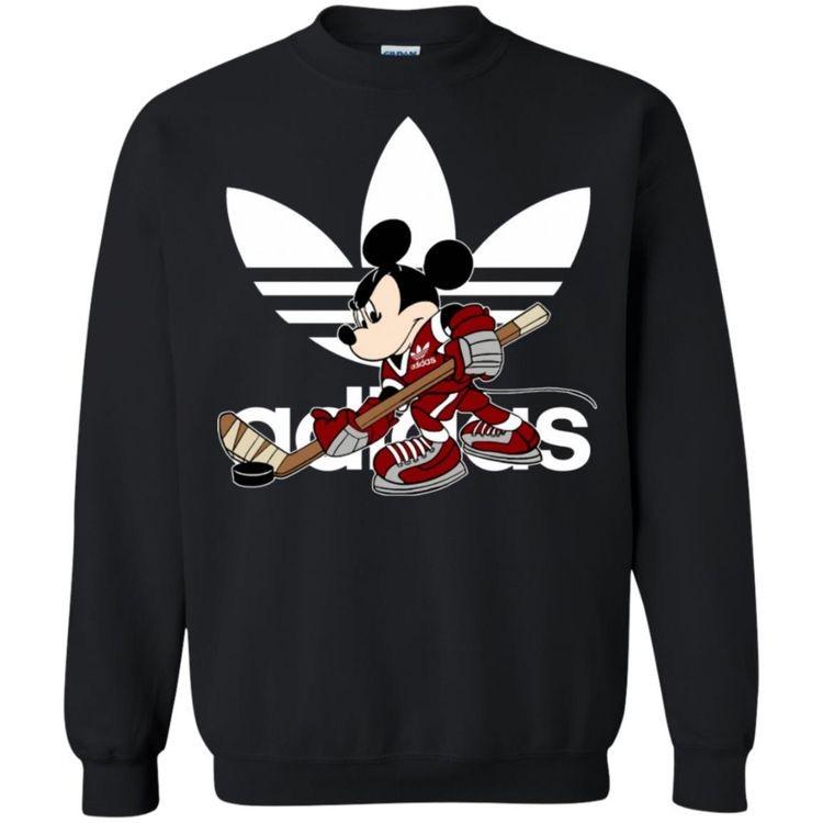 Adidas Mickey Mouse Hockey Sweatshirt