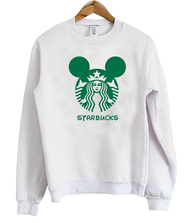 Disney Starbucks Sweatshirt